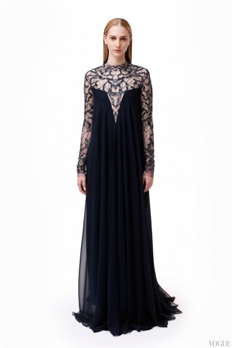 Monique Lhuillier Couture весна-лето 2013 #2