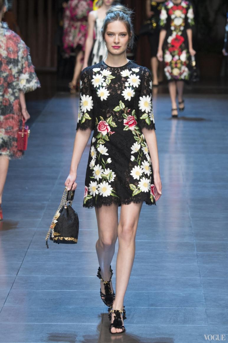Dolce & Gabbana весна-лето 2016 #73