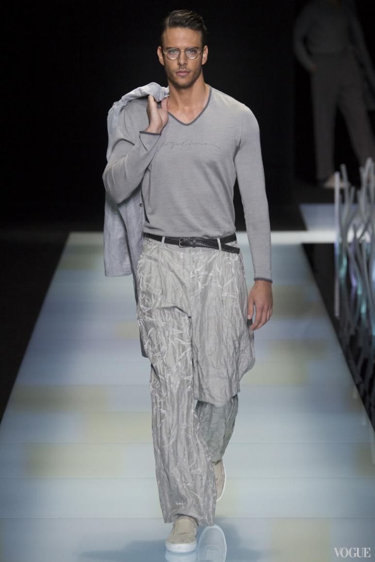 Giorgio Armani Menswear весна-лето 2016 #28