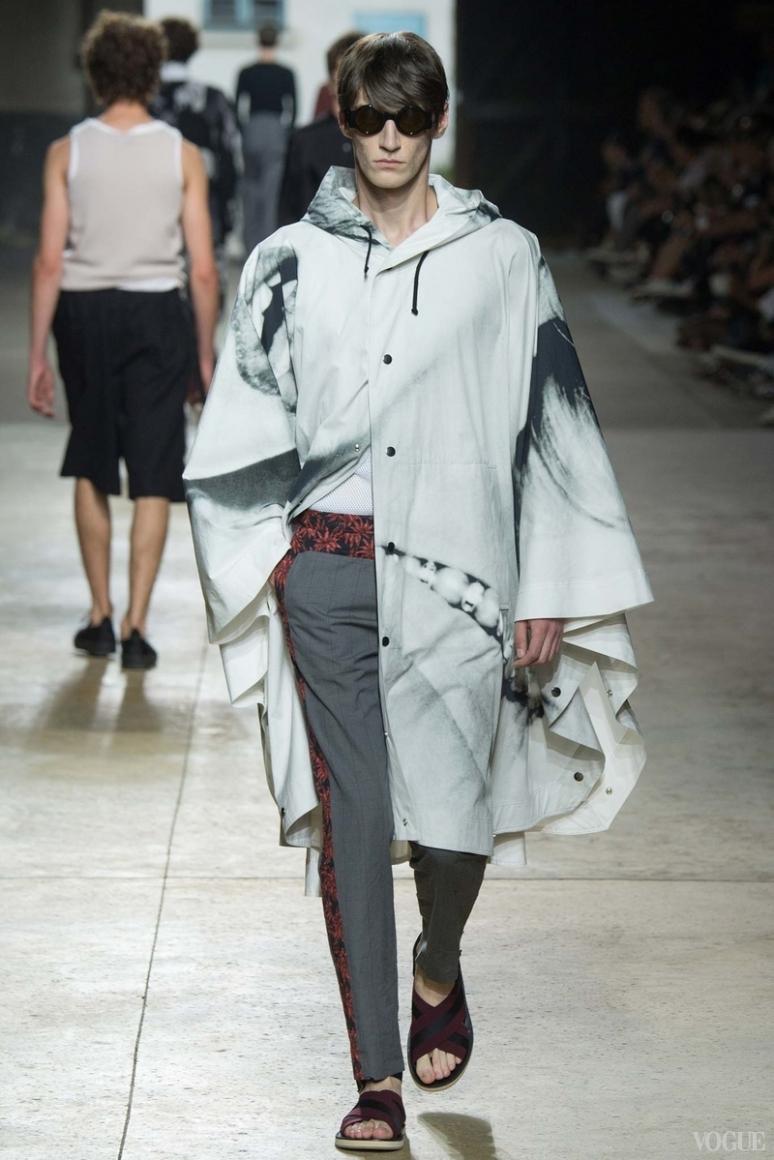 Dries van Noten Menswear весна-лето 2016 #42