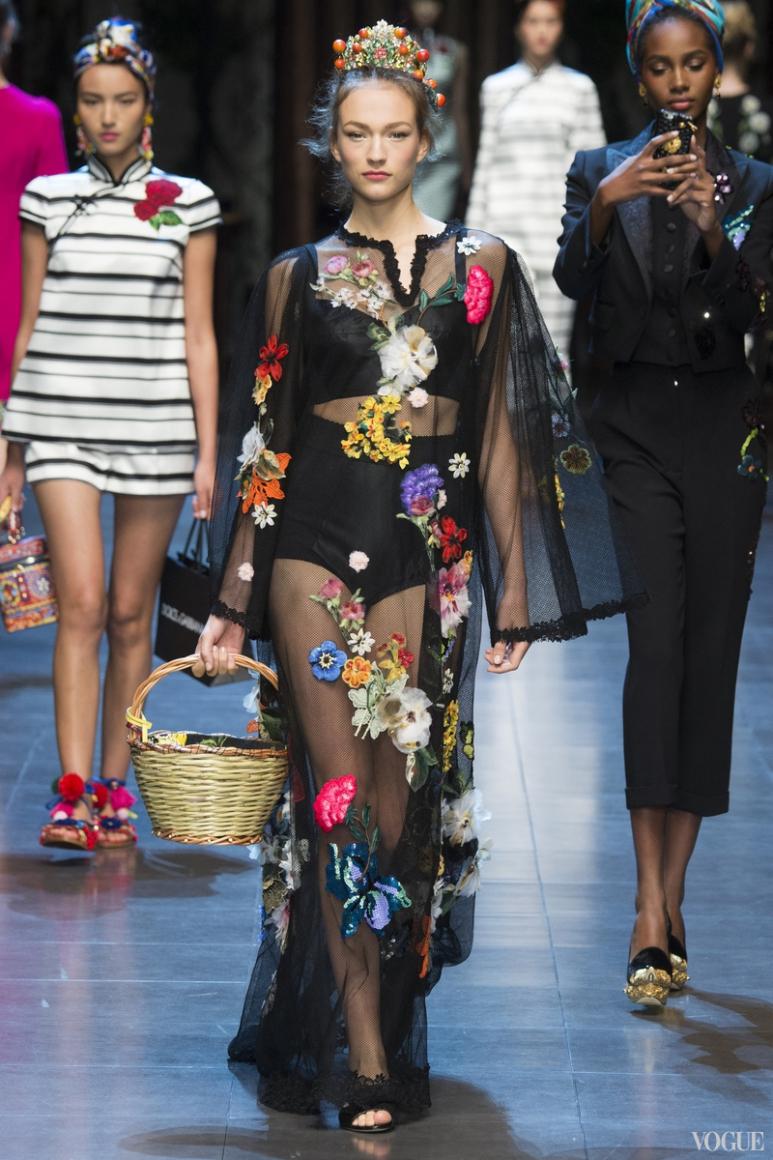 Dolce & Gabbana весна-лето 2016 #46