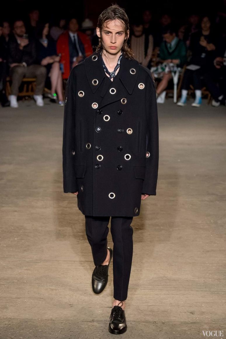 Alexander McQueen Menswear весна-лето 2016 #19