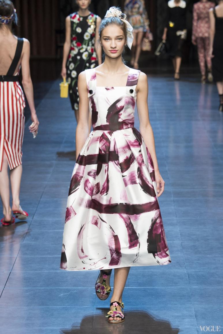 Dolce & Gabbana весна-лето 2016 #34