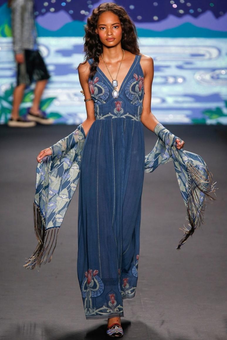 Anna Sui весна-лето 2014 #23