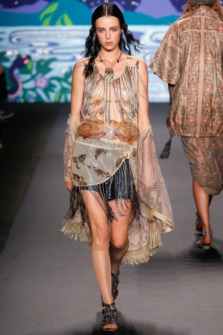 Anna Sui весна-лето 2014 #50