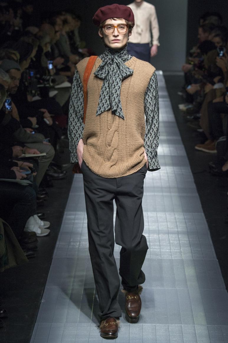 Gucci Menswear осень-зима 2015/2016 #37