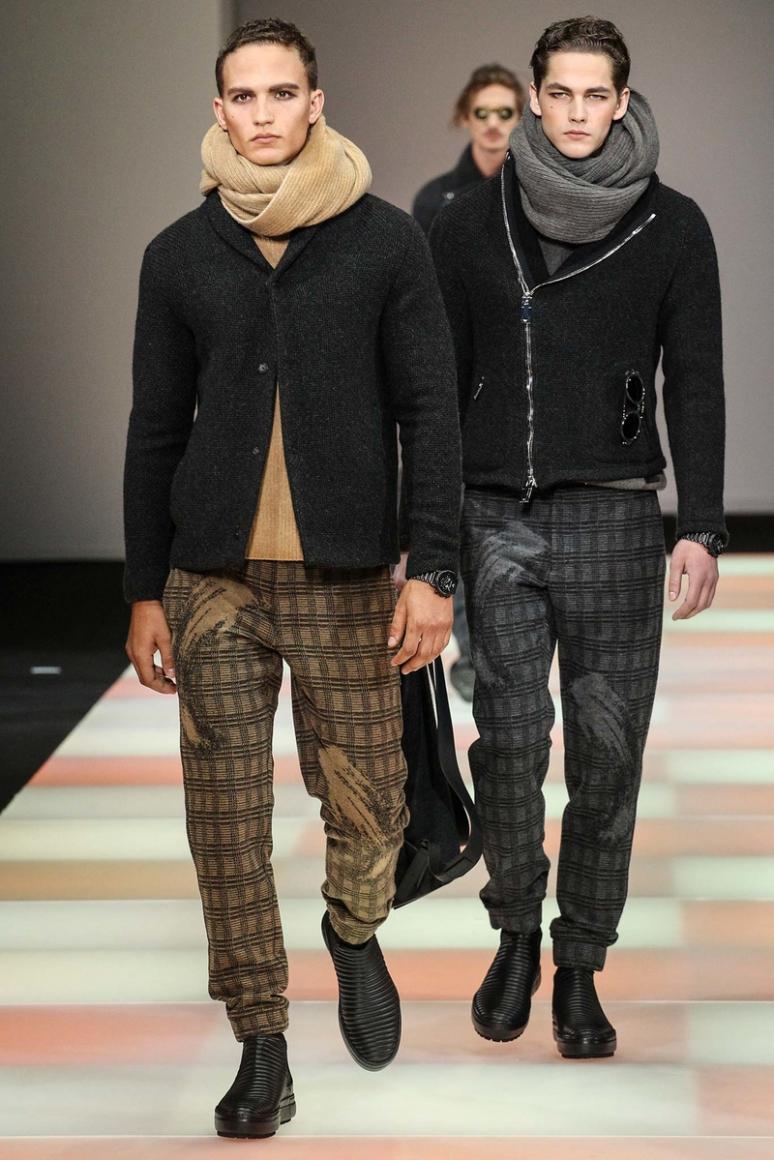 Emporio Armani Menswear осень-зима 2015/2016 #45