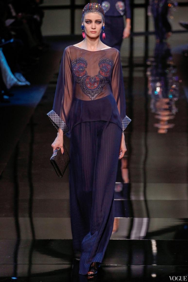 Armani Priv? Couture весна-лето 2014 #33