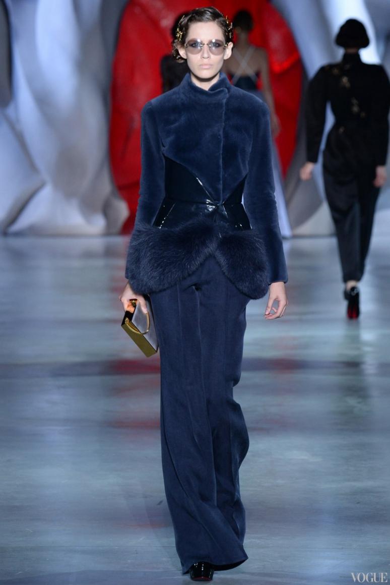 Ulyana Sergeenko Couture осень-зима 2014/2015 #8
