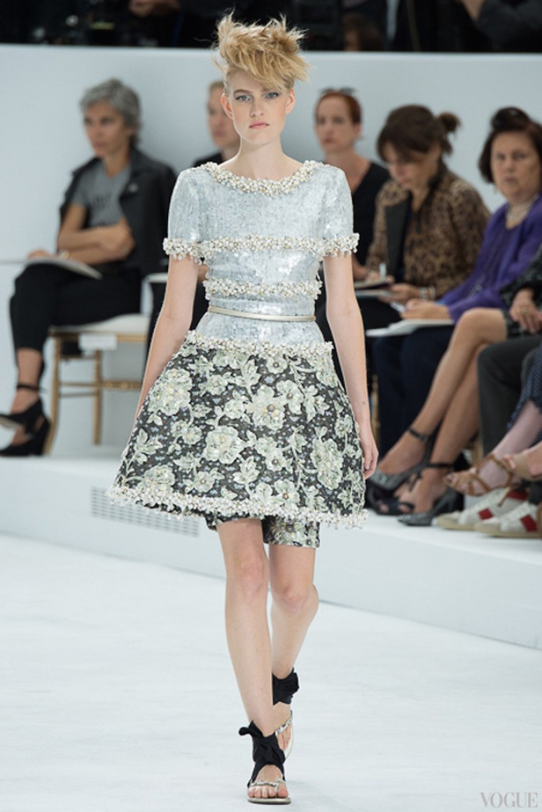 Chanel Couture осень-зима 2014/2015 #30