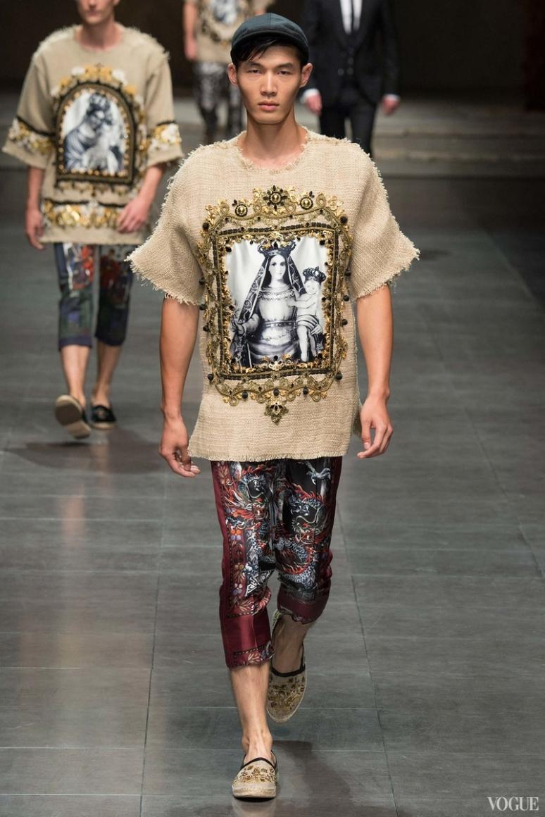 Dolce & Gabbana Menswear весна-лето 2016 #72