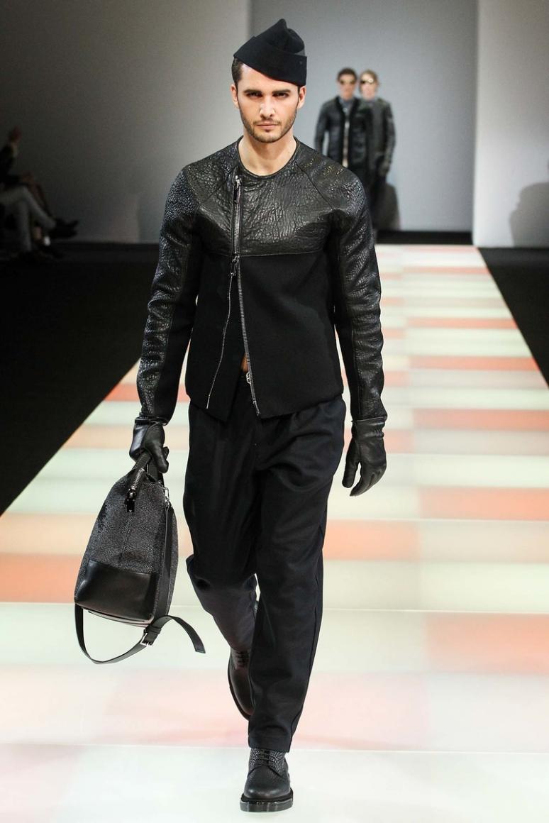 Emporio Armani Menswear осень-зима 2015/2016 #35