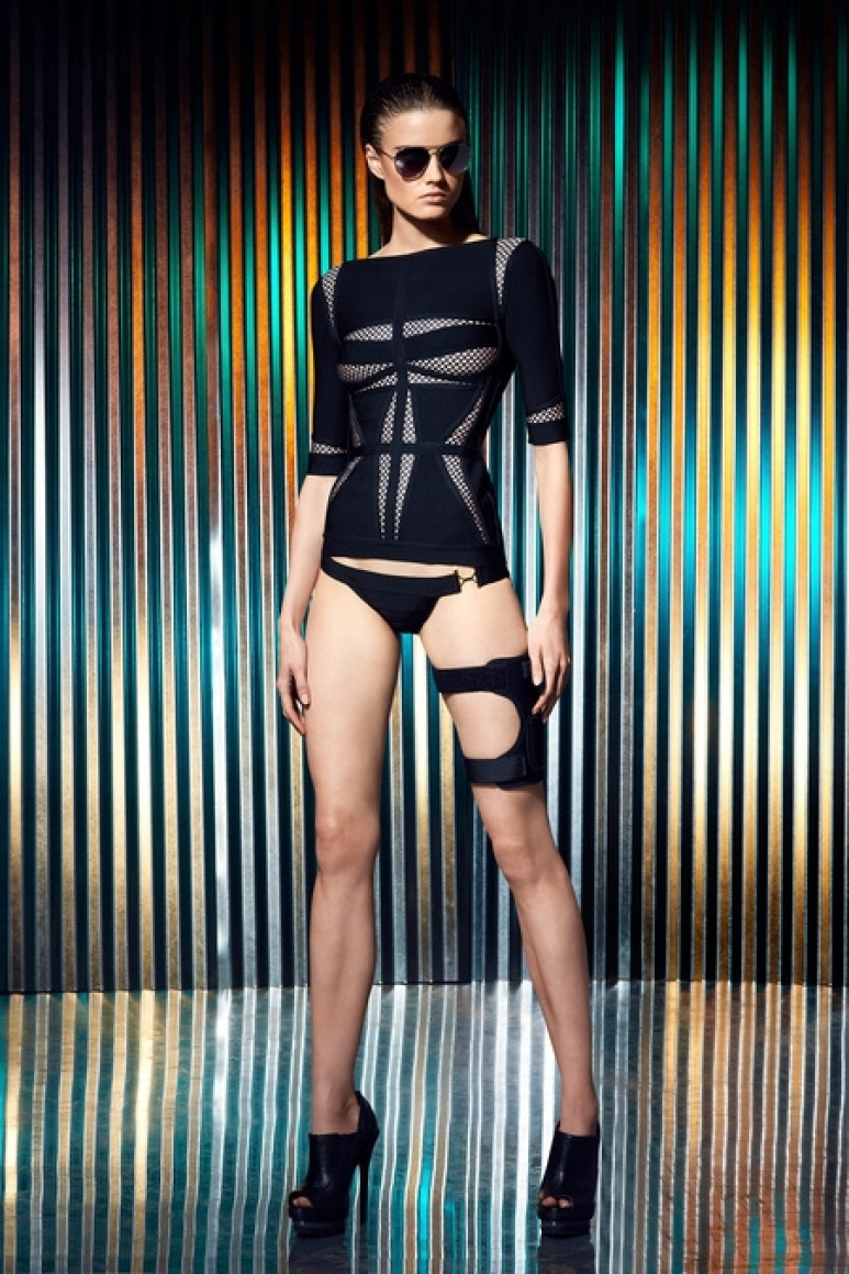 Herve Leger by Max Azria Resort 2014 #8