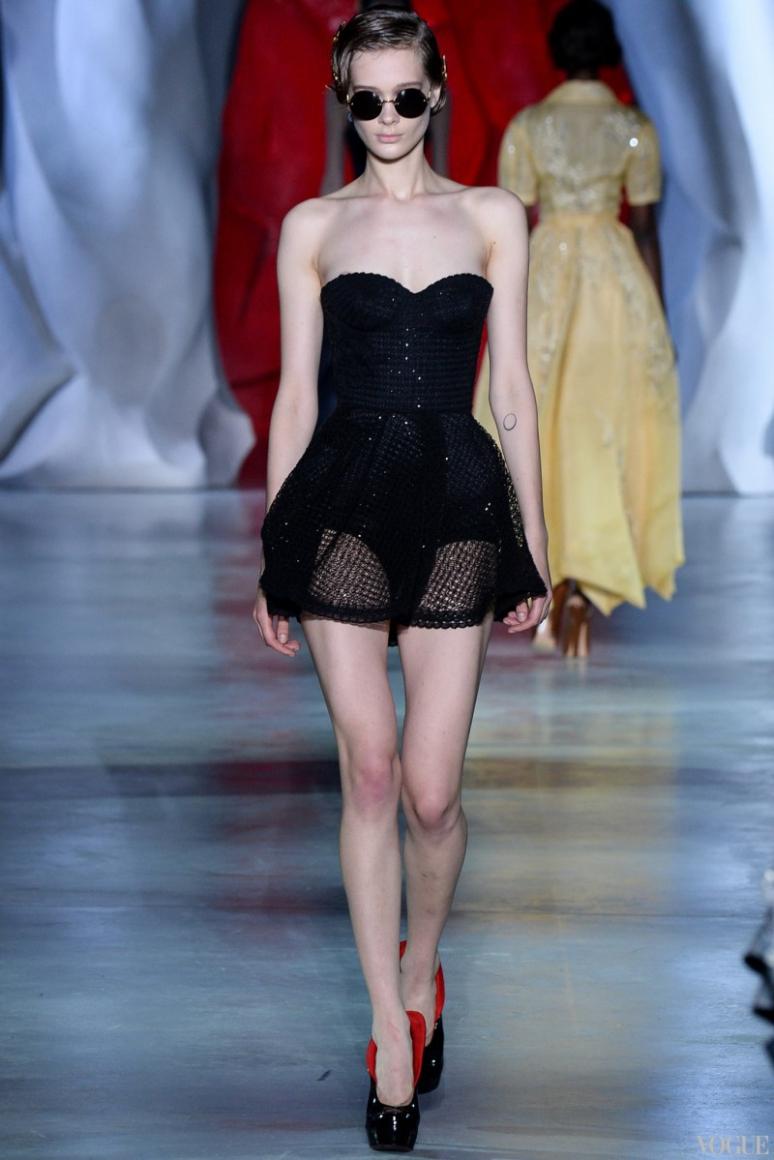 Ulyana Sergeenko Couture осень-зима 2014/2015 #10