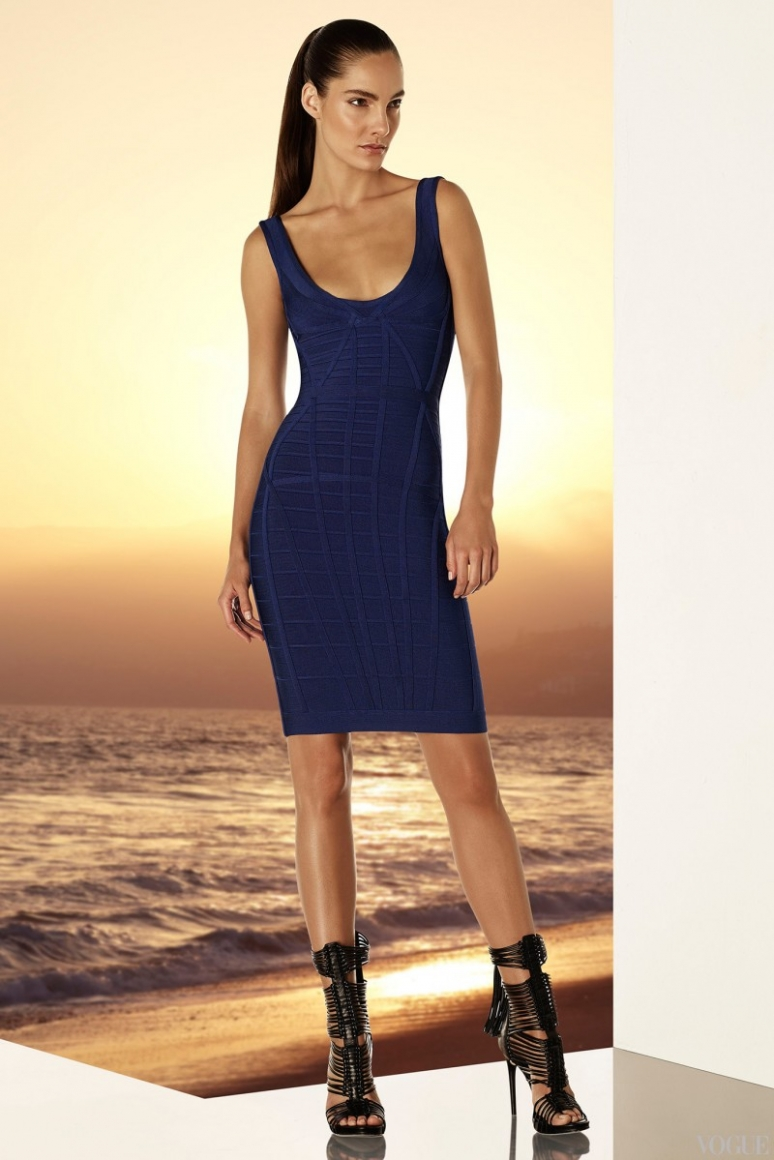 Herve Leger by Max Azria Resort 2015 #17