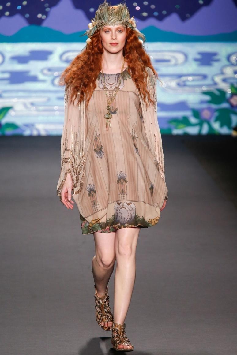 Anna Sui весна-лето 2014 #53