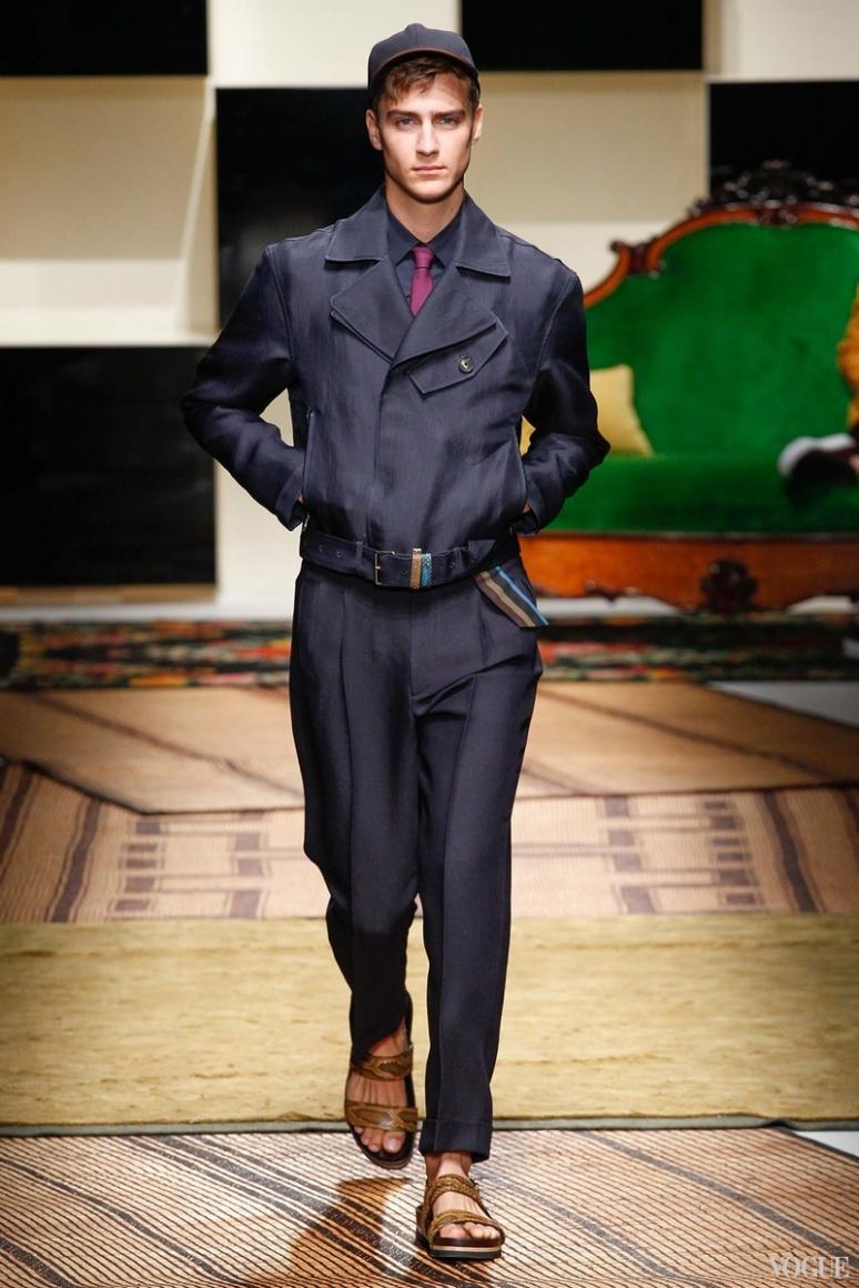 Salvatore Ferragamo Menswear весна-лето 2016 #9