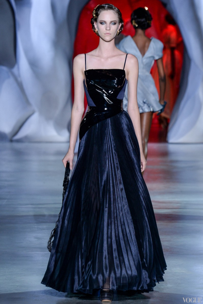 Ulyana Sergeenko Couture осень-зима 2014/2015 #12