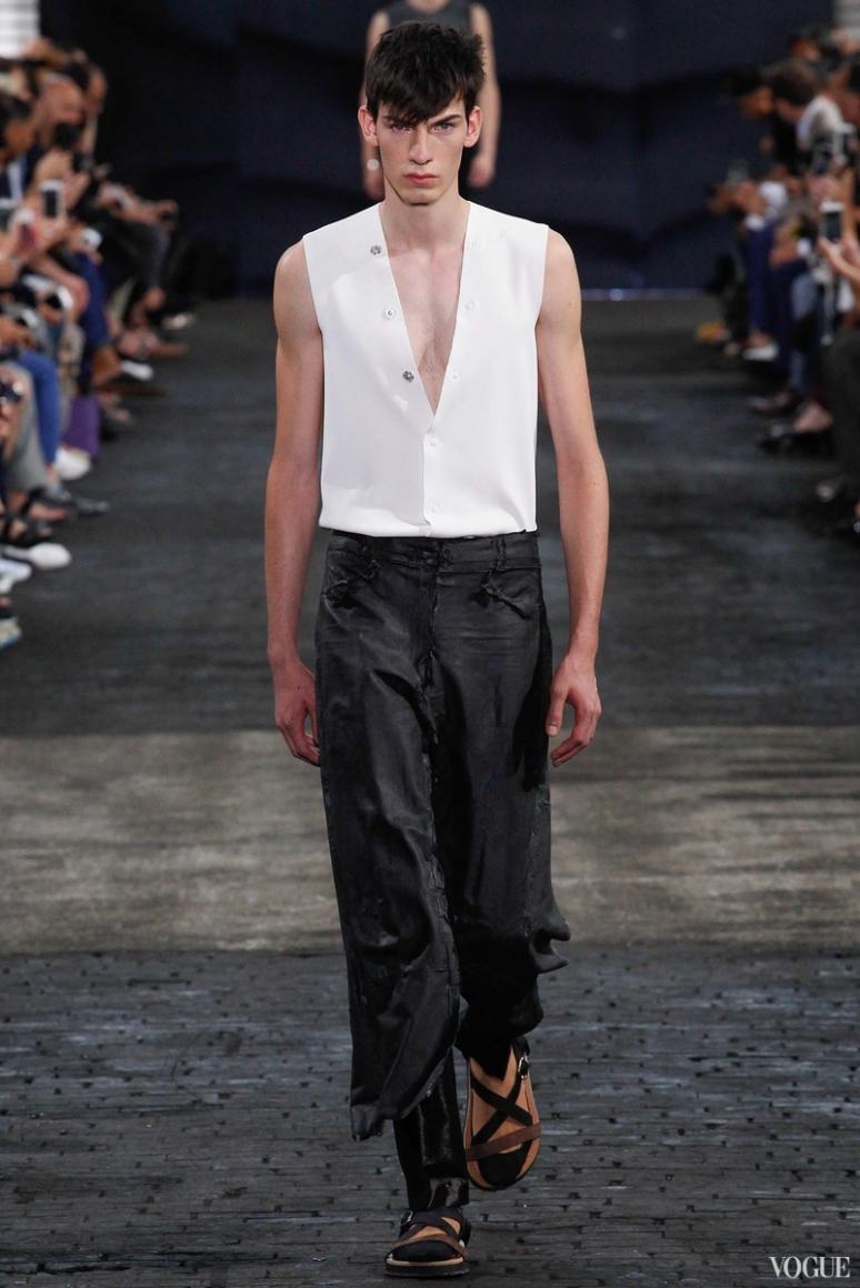 Maison Martin Margiela Menswear весна-лето 2016 #26