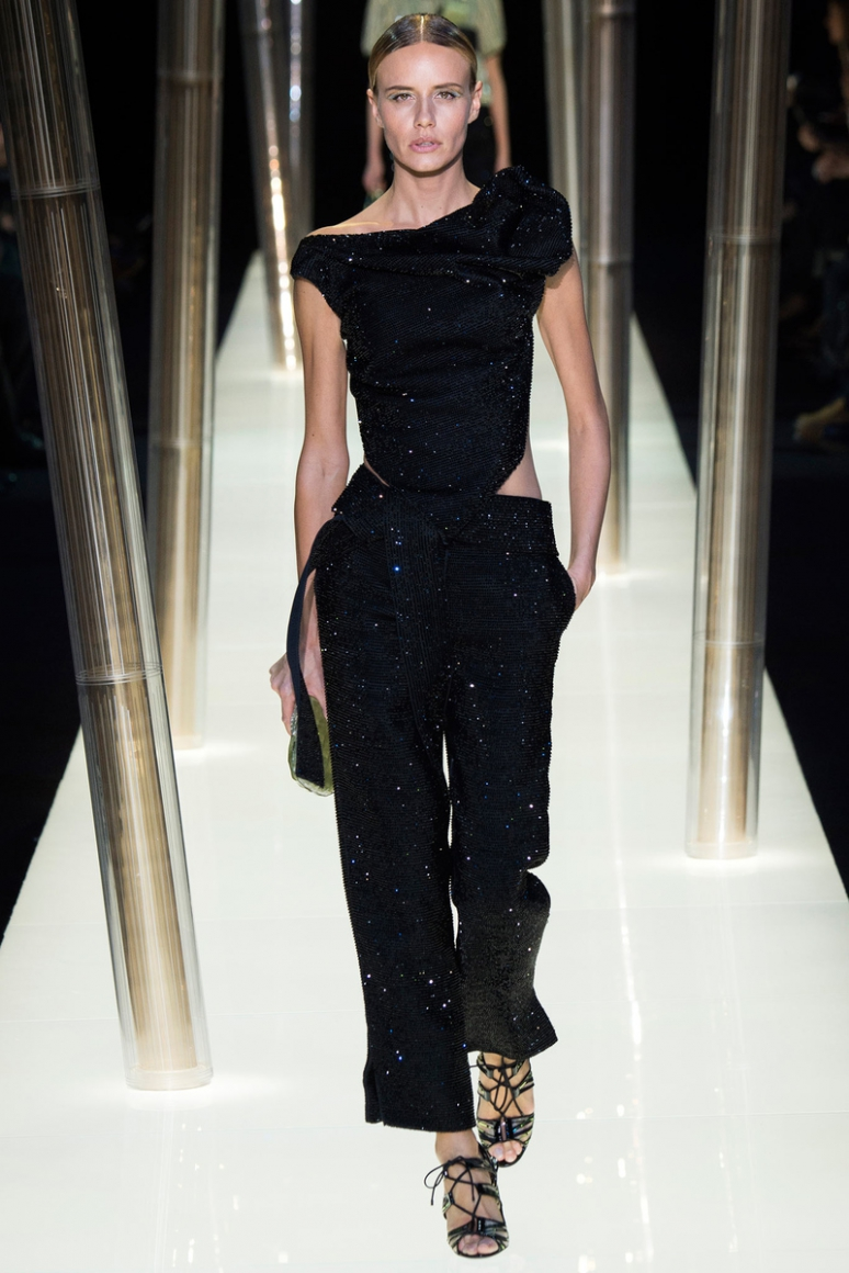 Armani Priv? Couture весна-лето 2015 #32