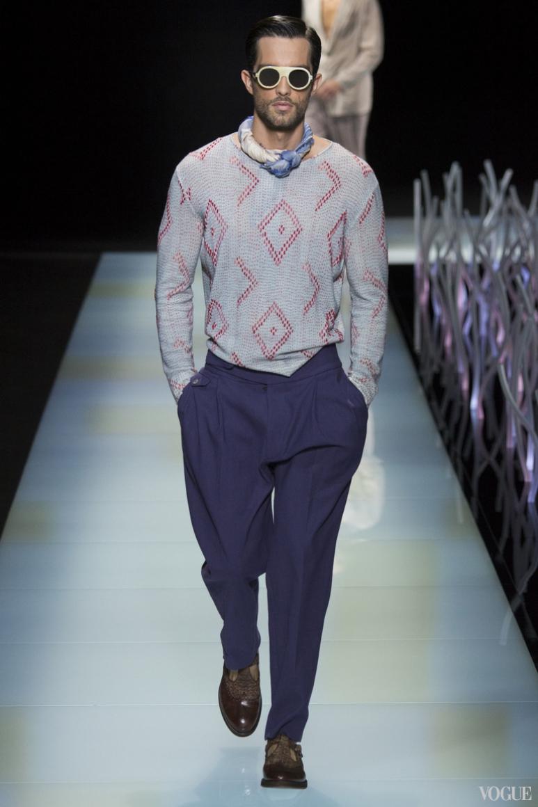 Giorgio Armani Menswear весна-лето 2016 #59