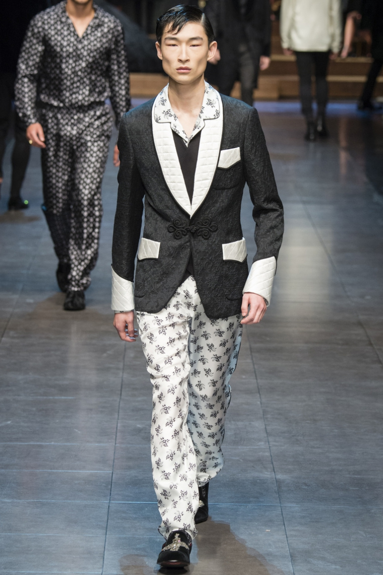Dolce & Gabbana Menswear осень-зима 2015/2016 #22