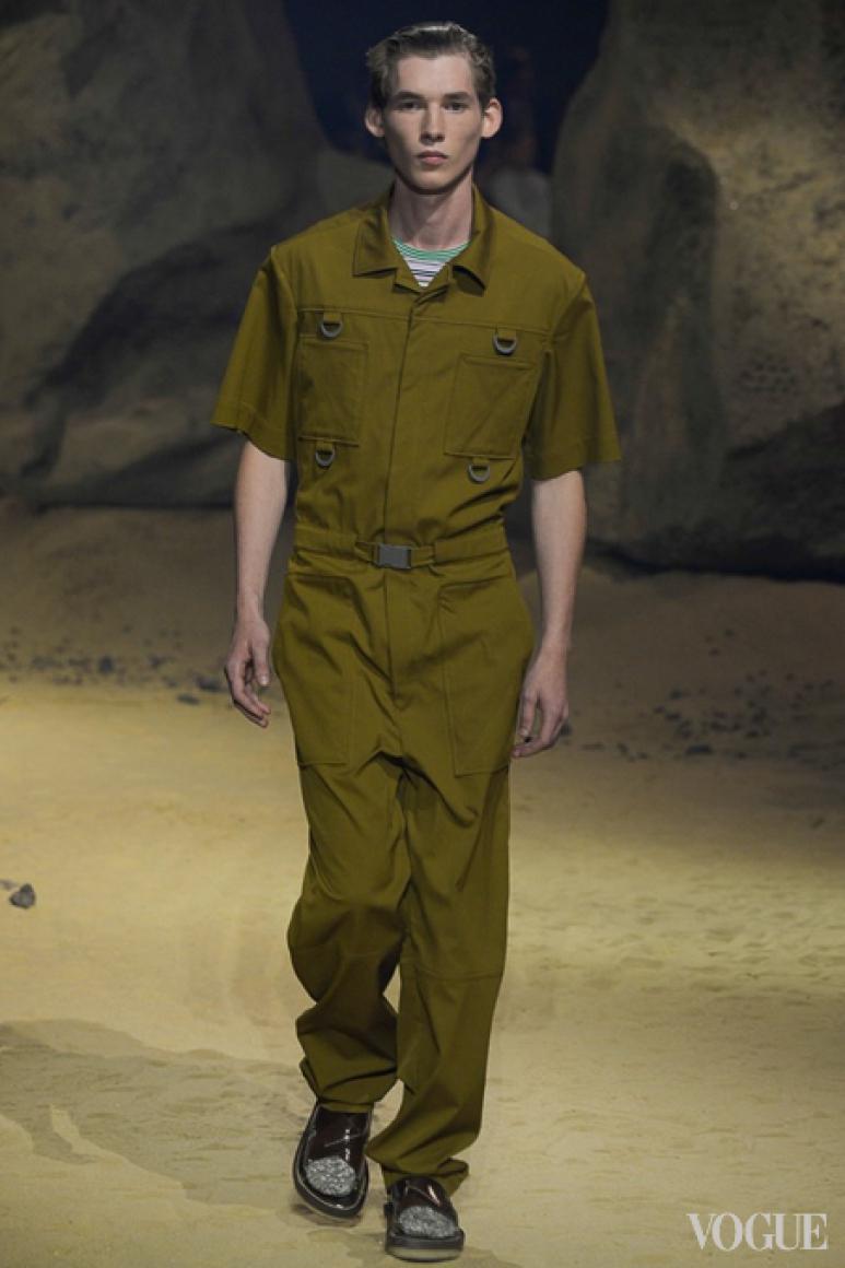 Kenzo Menswear весна-лето 2016 #23