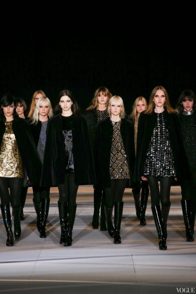 Saint Laurent осень-зима 2014/2015 #1