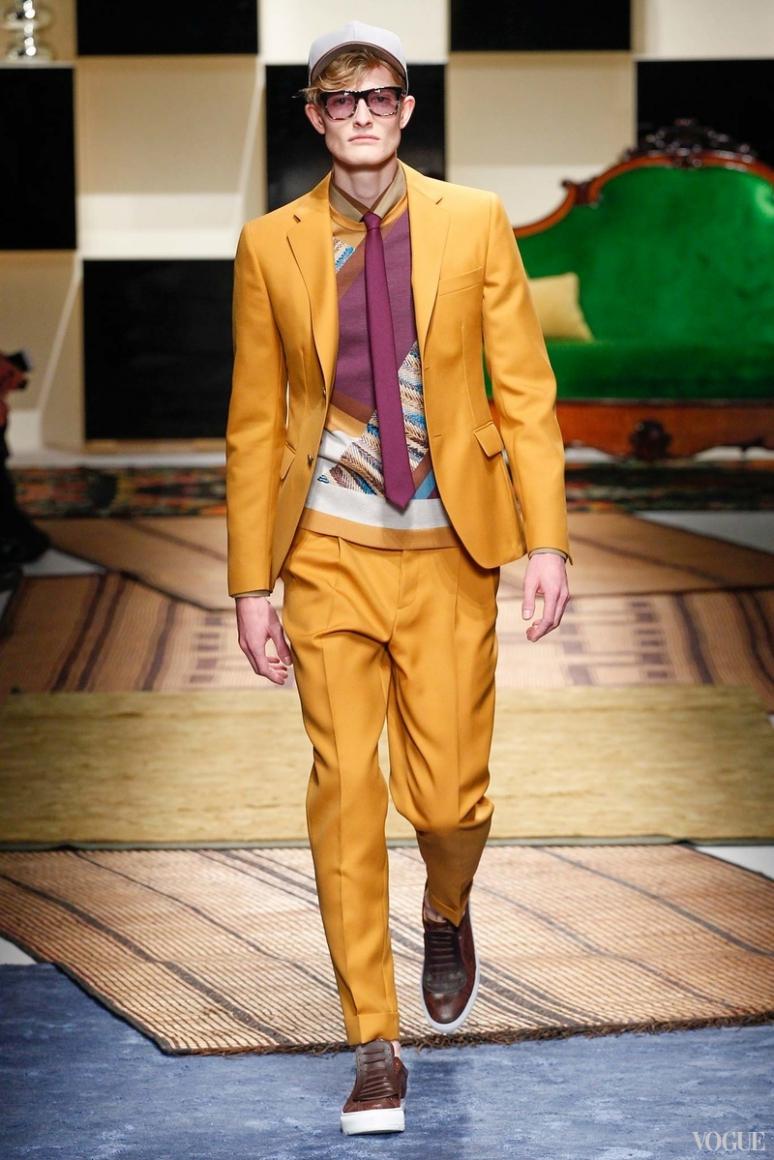 Salvatore Ferragamo Menswear весна-лето 2016 #18