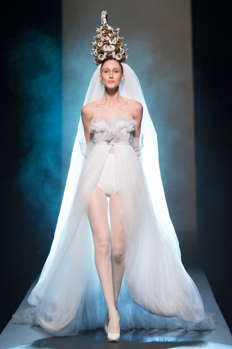 Jean Paul Gaultier Couture весна-лето 2015 #63