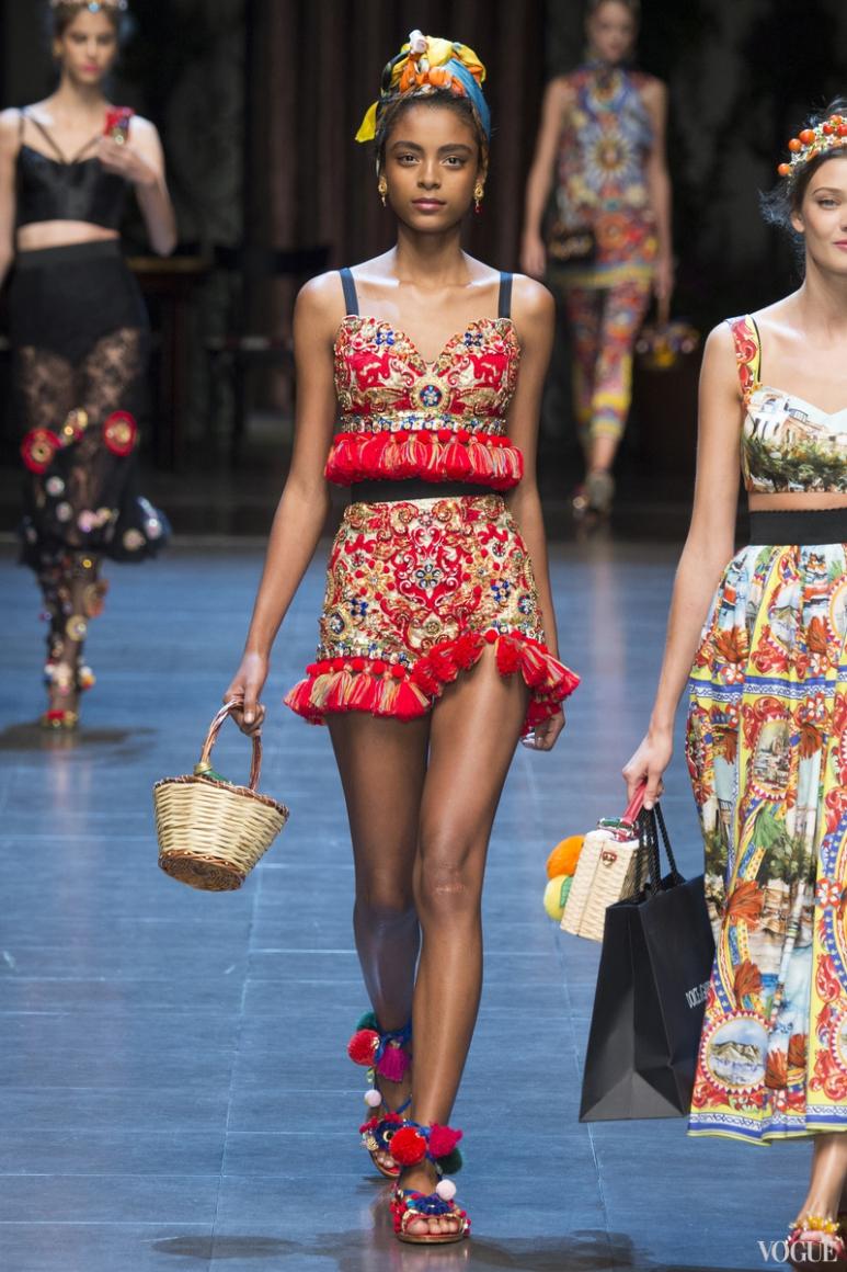 Dolce & Gabbana весна-лето 2016 #20