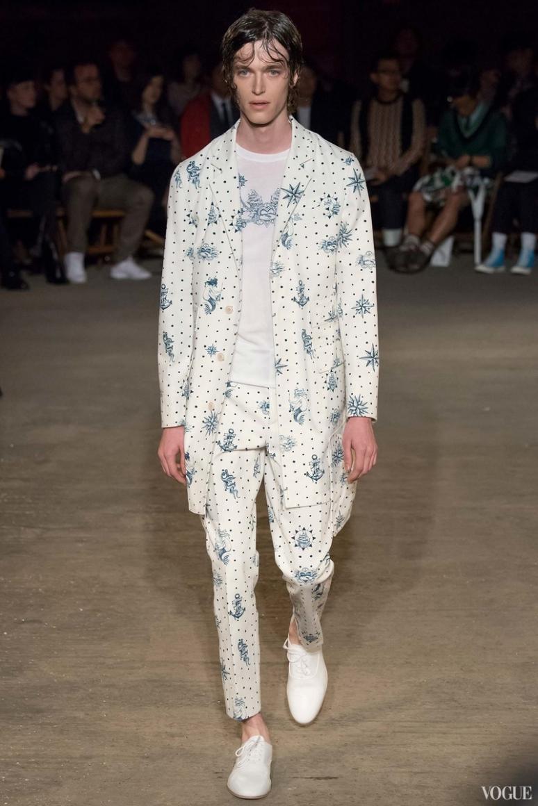 Alexander McQueen Menswear весна-лето 2016 #29