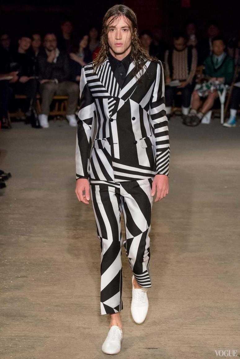 Alexander McQueen Menswear весна-лето 2016 #11