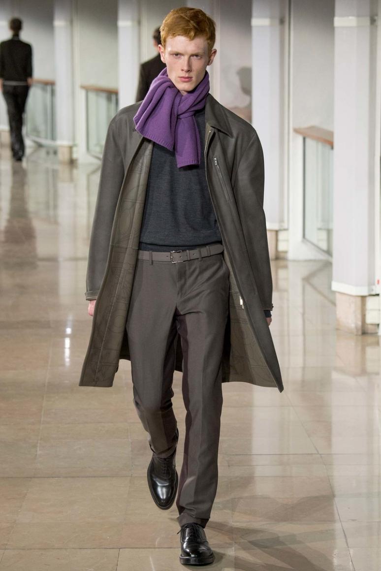 Hermes Menswear осень-зима 2015/2016 #28