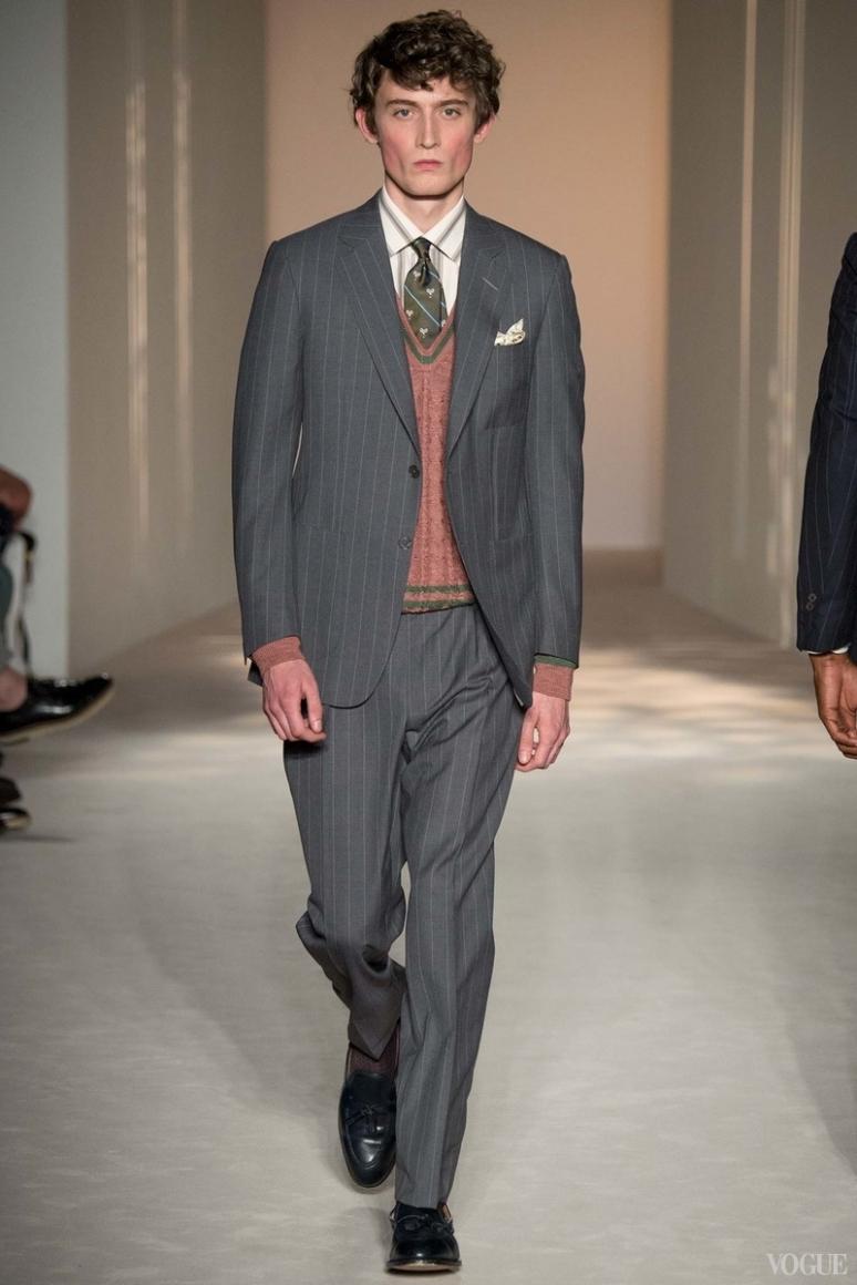 Dunhill Menswear весна-лето 2016 #27