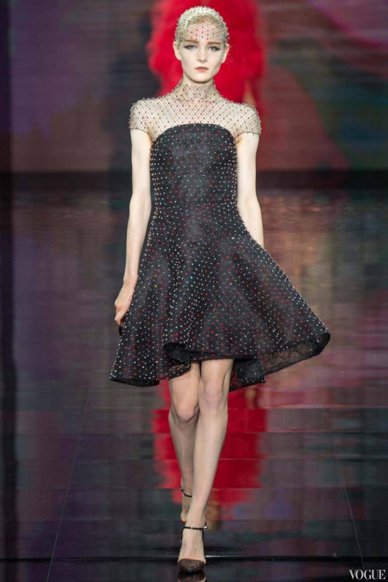 Armani Priv? Couture осень-зима 2014/2015 #56
