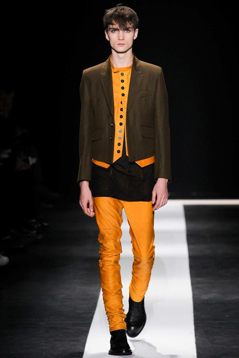 Ann Demeulemeester Menswear осень-зима 2015/2016 #17