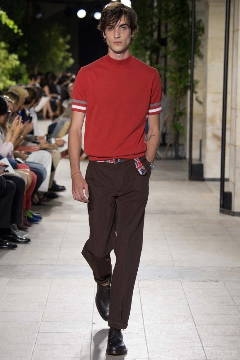 Hermes Menswear весна-лето 2016 #37