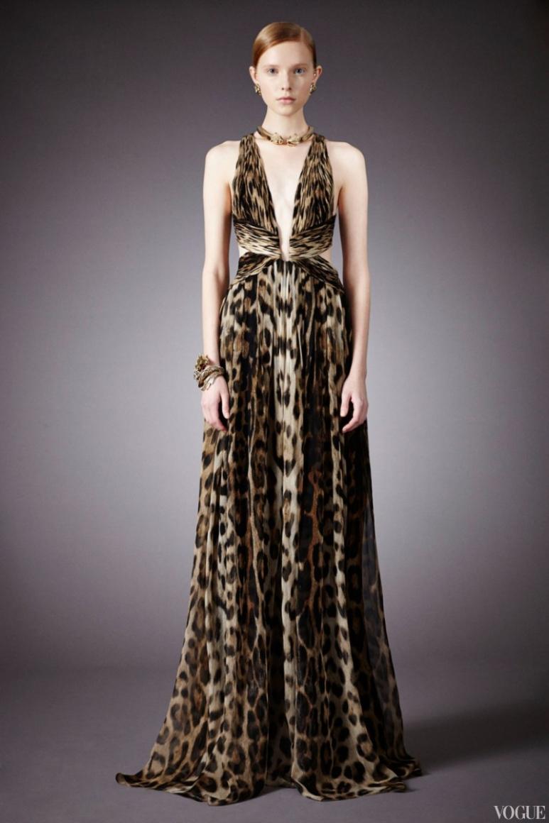 Roberto Cavalli Couture весна-лето 2013 #22