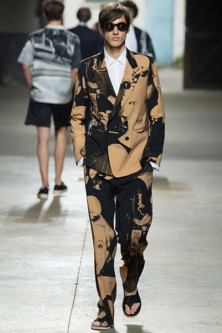 Dries van Noten Menswear весна-лето 2016 #3