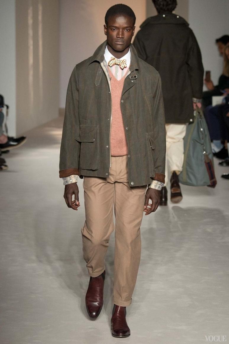 Dunhill Menswear весна-лето 2016 #17