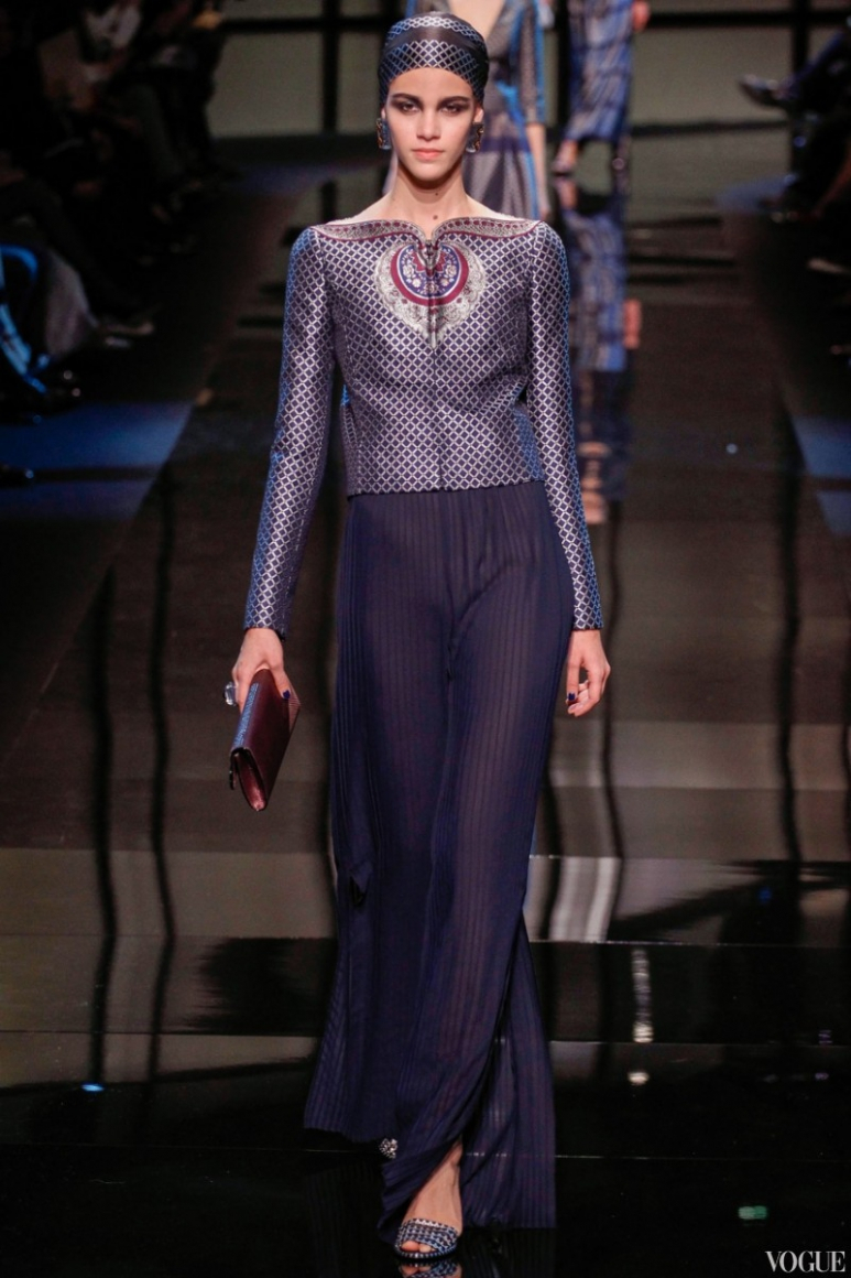 Armani Priv? Couture весна-лето 2014 #46