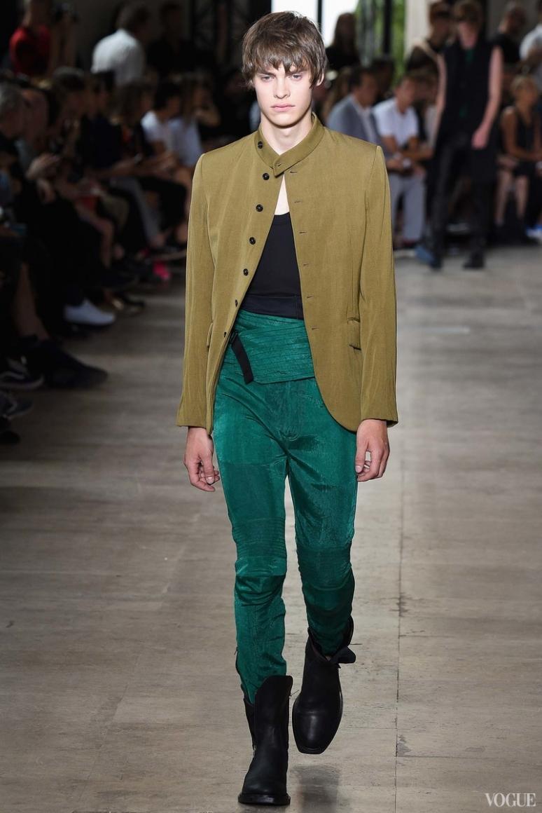 Ann Demeulemeester Menswear весна-лето 2016 #9