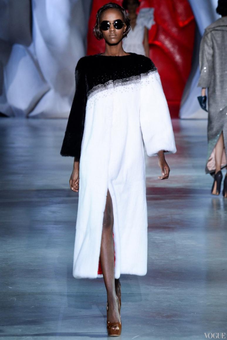 Ulyana Sergeenko Couture осень-зима 2014/2015 #39