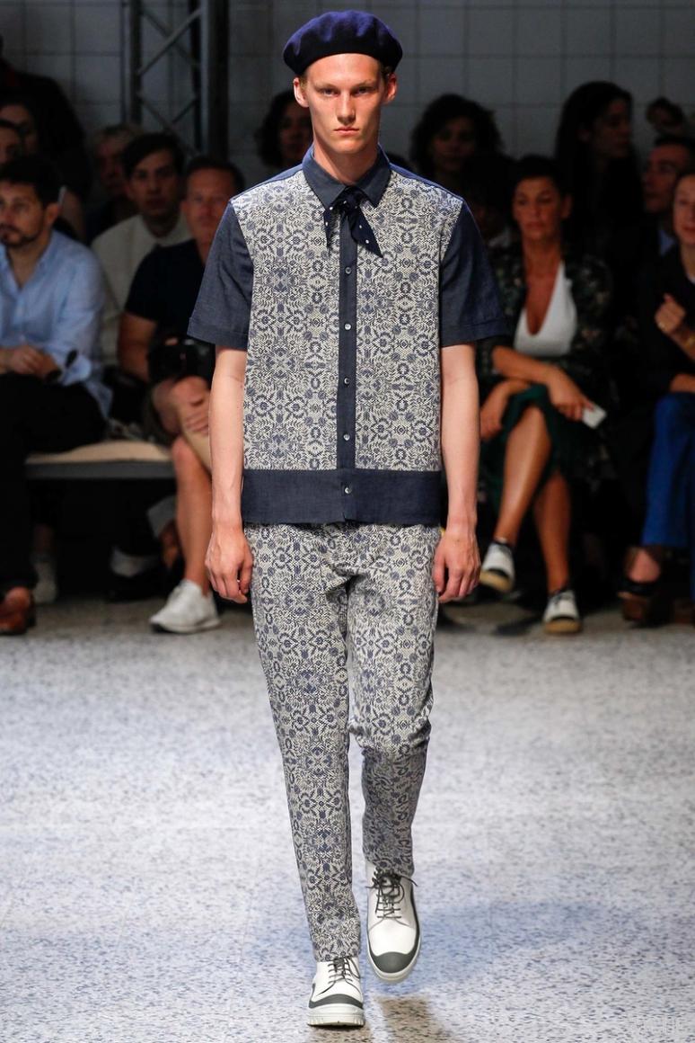 Antonio Marras Menswear весна-лето 2016 #39