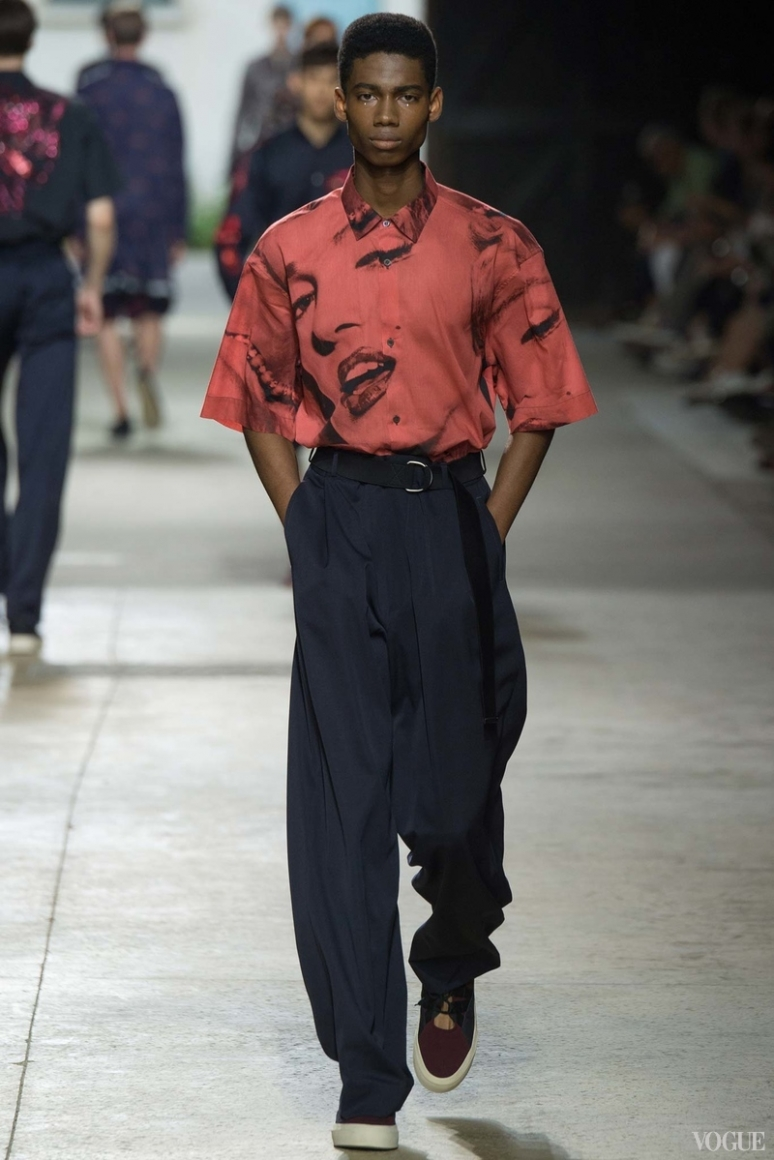 Dries van Noten Menswear весна-лето 2016 #34