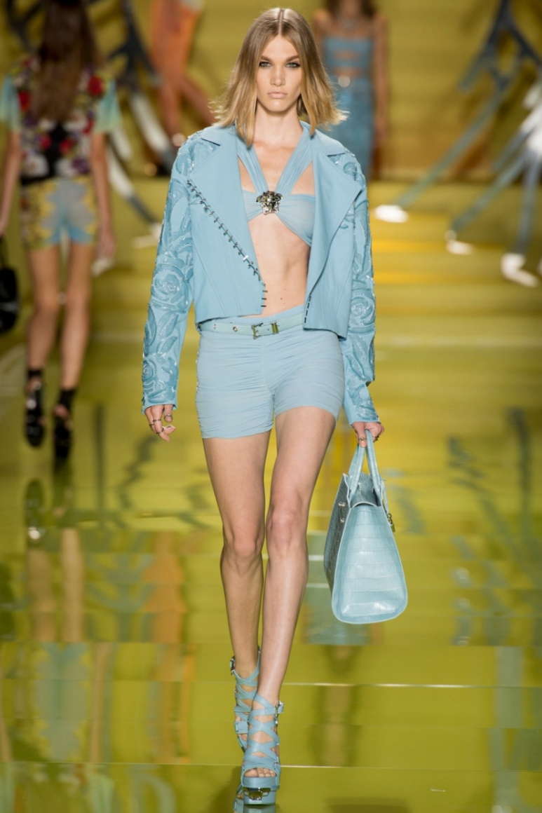Versace весна-лето 2014 #18