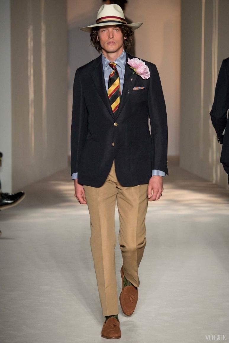 Dunhill Menswear весна-лето 2016 #30