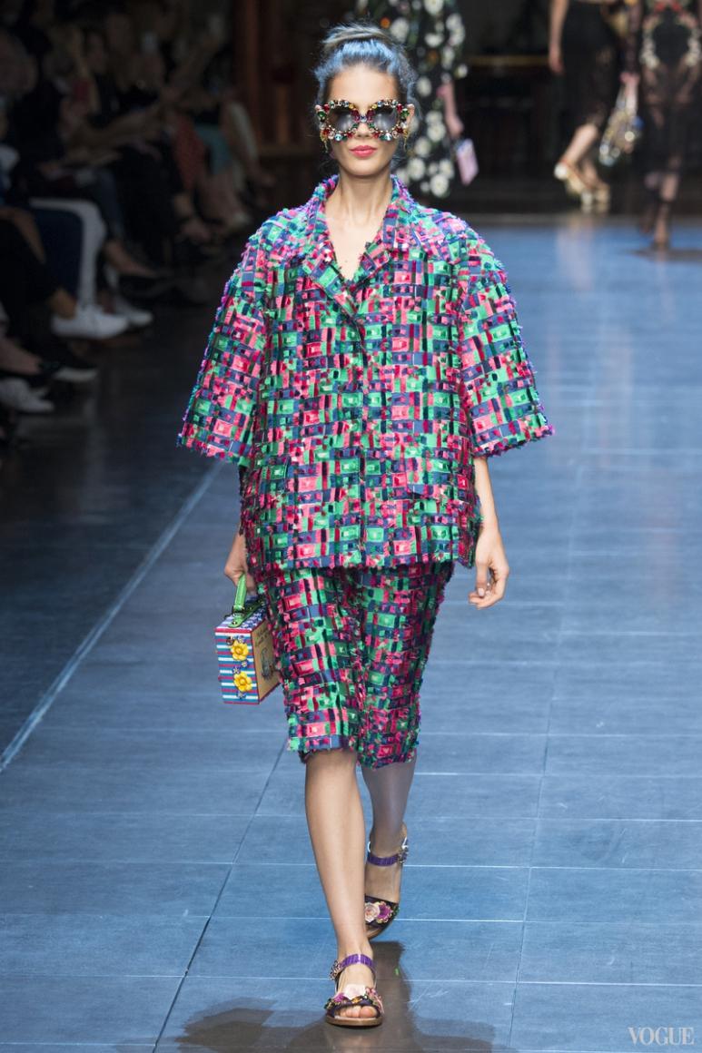 Dolce & Gabbana весна-лето 2016 #57