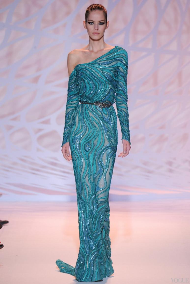 Zuhair Murad Couture осень-зима 2014/2015 #12